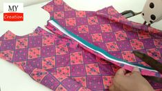 Girls Cuts, Neck Design, Stitching, The Creator, Summer Dresses, Sewing, Style, Fashion, Costura