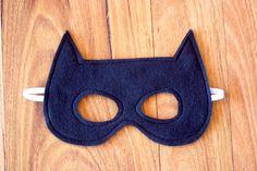 Batman maschera - maschera da supereroe feltro
