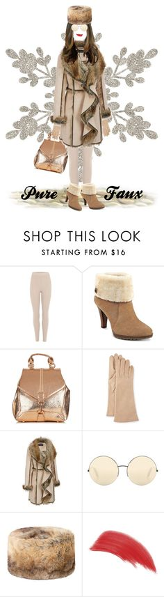 """""""Pure Faux"""" by krusie ❤ liked on Polyvore featuring adidas Originals, Anne Klein, Portolano, Victoria Beckham, DUBARRY, Bare Escentuals and plus size clothing"""