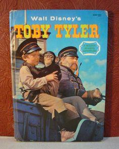 Walt Disney's Toby Tyler A Golden Reading Adventure Carl Memling 1960 1st Ed.
