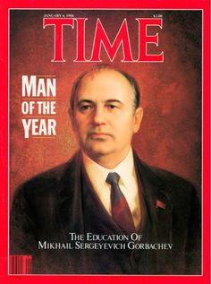 1987: Mikhail Gorbachev - Time