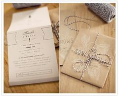 custom parchment paper wedding invites