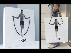 such a cool shopping (fitness) bag :) - YKM shopping bag TBWA\Istanbul : AdForum.com