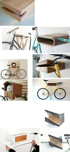 Indoor Bike Rack for Apartment 2015 Bike Design, Wood Design, Bicycle Hanger, Bicycle Stand, Indoor Bike Rack, Range Velo, Bike Shelf, Bicycle Storage, Scooter Storage