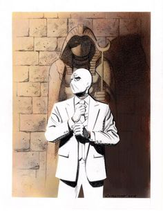 Moon Knight by Greg Smallwood