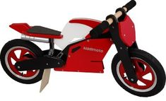 Super cool Kiddimoto Superbike wooden balance bikes  12% off on Amazon