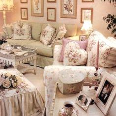 Shabby Style Living Room