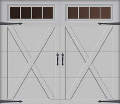 Overhead Door - Courtyard Collection