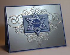 Hanukkah card...stunning!