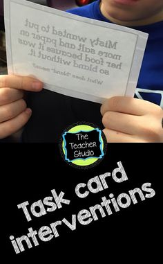 Task Cards, Interventions, Real Reading, and more