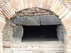 Bread anyone? A baking oven perfectly preserved! Photo: Diane Rossi #pompeii #italy #ruins #baking