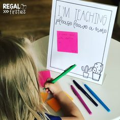 Ok, so I'm loving this super simple idea from Display this sign when you're teaching small group instruction, so students… 3rd Grade Classroom, Classroom Behavior, Classroom Community, Future Classroom, School Classroom, Classroom Activities, Classroom Management, Classroom Ideas, Behavior Management