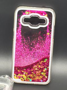 New Bling Dynamic Liquid Glitter Hard Case For Samsung Galaxy Core Prime SM-G360