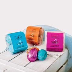Ett tråg med choklad med delikat havssalt från Cervia ( blå förpackning, 4 ägg per tråg) Läs mer om Gardini här: http://beriksson.net/vara-varumarken/gardini