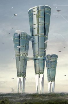 @maximaxoo:  #Future #Design: the #land liberator #skyscraper lets #vegetation grow back at its feet ► http://www.evolo.us/architecture/land-liberator-skyscraper/ …
