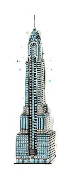 """""""#LexingtonAvenue,"""" the Chrysler Building"""
