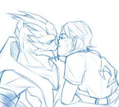 ladyintheattic:  ellie kissin' her dumb boyfriend