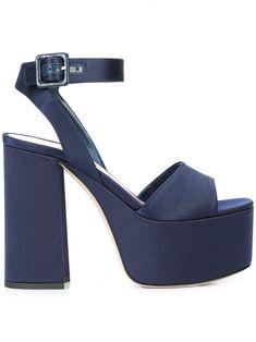 MIU MIU BLUE. #miumiu #shoes #