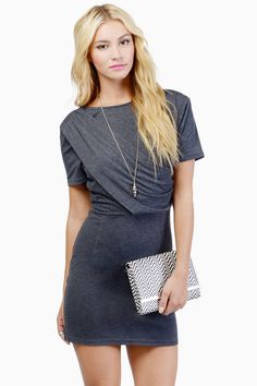 Draped In Style Dress