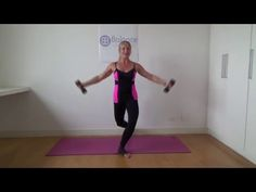Barre Workout: Upper & Lower Body Combo - YouTube