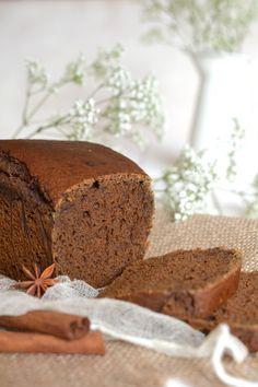 Vegan treacle gingerbread || Pain d'épices à la mélasse, 100% végétal. --> www.lesrecettesdejuliette.fr