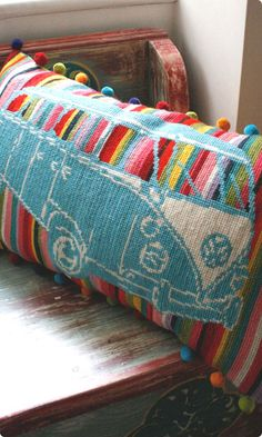 VW campervan tapestry kit. (UK)
