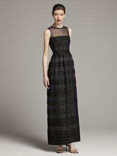 CH Carolina Herrera Colección Otoño 2013 #BoulevardJockey #Fall #CH #CarolinaHerrera #Woman #LookBook #Dress #Black