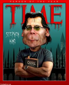 stephen king on time person of the year photoshop