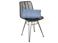 Leitmotiv - Chair Cosy rotan black 54,6 x 44,5 x 85,7cm. #leitmotivfurniture #presenttime #presenttime_hq