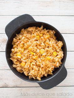 Arroz con maíz