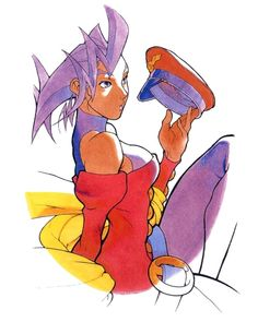 Street Fighter Zero: Rose
