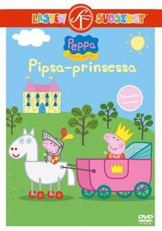 Pipsa Possu: Pipsa-prinsessa dvd. Pipsa istuu prinsessa vaunuissa ja hevonen on valmis lähtemään liikkeelle. Näkeekö Pipsa unta vai mistä on kyse? Se selviää Pipsan animaatiojaksossa monen muun tarinan lisäksi.