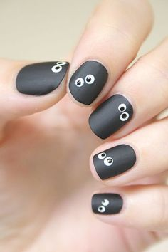 nails kids easy daughters ~ nails kids easy ` nails kids easy simple ` nails kids easy so cute ` nails kids easy step by step ` nails kids easy daughters ` christmas nails easy kids ` kids nail designs easy ` nails for kids easy Love Nails, Fun Nails, Pretty Nails, Halloween Nail Designs, Halloween Nail Art, Scary Halloween, Halloween Halloween, Spooky Spooky, Trendy Nail Art