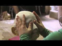 Mini formation of masks with thermoplastique by Natacha Belova - YouTube