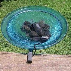 solar bubbler bird bathdeck mount or ground