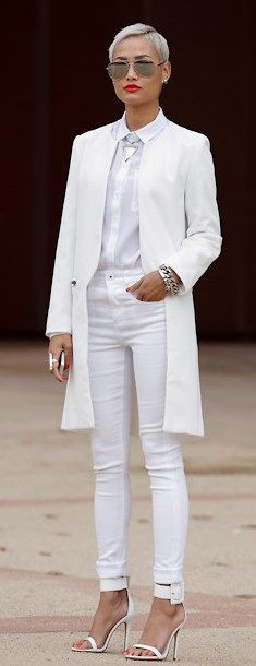 City CHIC in all white!!!!!!!!!!!!