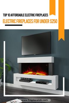 Are you looking for Electric Fireplaces For Under $250?🤔 Then, we have got you covered. 😇Read our blog where we have listed top 10 Affordable Electric Fireplaces 😮 Electric Fireplaces, Flat Screen, Blog, Flat Screen Display, Flatscreen, Blogging, Dish Display, Electric Log Burner