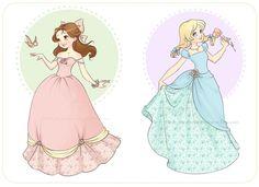 Princesses by Chpi.deviantart.com on @deviantART