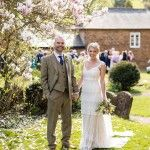 An English Spring Wedding With A Touch of '20s Glamour