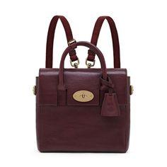 Mini Cara Delevingne Bag in oxblood
