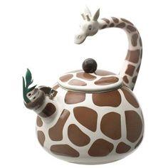 Chaleira de girafa! *-*