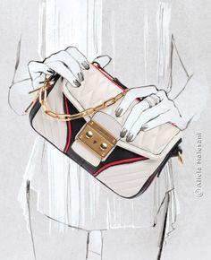 Alicia Malesani, Illustrator - For Harper's Bazaar Spain - January 2014