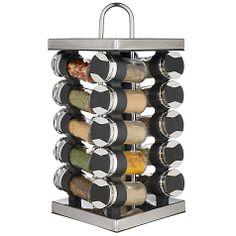 Buy John Lewis 20 Jar Revolving Square Spice Rack