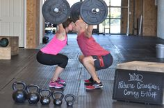 Our Crossfit baby announcement
