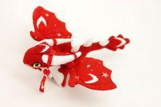 дракон из фетра