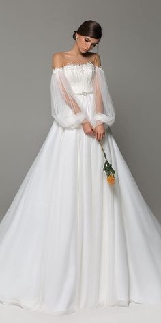 24 Top Wedding Dresses For Bride ? top wedding dresses ball gown illusion neckline with sleeves simple evalendel ? : 24 Top Wedding Dresses For Bride ? top wedding dresses ball gown illusion neckline with sleeves simple evalendel ? Wedding Dress Black, Top Wedding Dresses, Wedding Dress Trends, Bridal Dresses, Sleeved Wedding Gowns, Timeless Wedding Dresses, Unique Wedding Dress, Bride Dress Simple, Simple Gowns