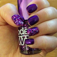 love this Models Own purple mirrorball varnish