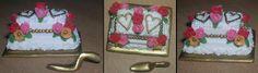 Bröllopstårta av fimo
