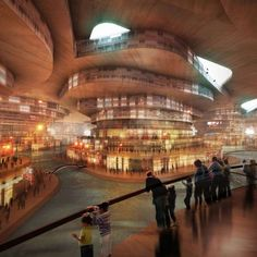 """UNDERGROUND CITIES  The concept of a water-poor world is becoming a reality. Matsys Designs has embarked on a project to combat the problem with its Sietch Nevada development, essentially an underground city inspired by the 1965 novel 'Dune'.  In the novel, inhabitants of a planet described as an almost complete desert seclude themselves in subterranean oases, which were known as """"sietch"""". The underground city of the modern Sietch Nevada takes much of its concepts from the novel."""