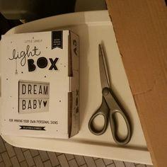 Fabriquer des rangements pour les lettres de la Lightbox.
